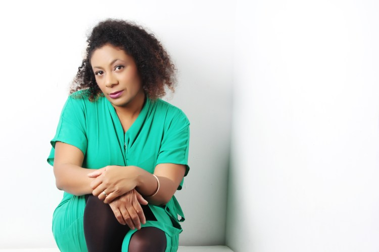 Author photo of Patrice Lawrence in green dress