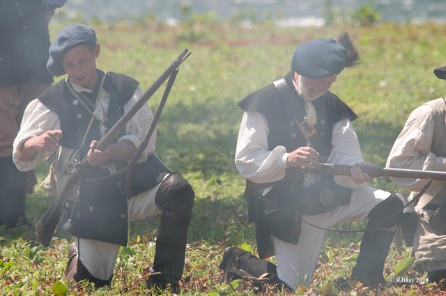 Gorham's Rangers, Battle of the Thousand Islands 250th Anniversary Commemoration - Ogdensburg, NY (Land battle re-enactment)