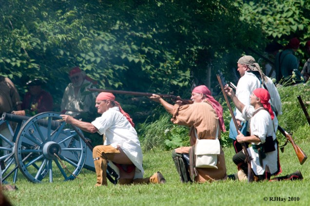 Battle of the Thousand Islands 250th Anniversary Commemoration - Ogdensburg, NY (Land battle re-enactment)