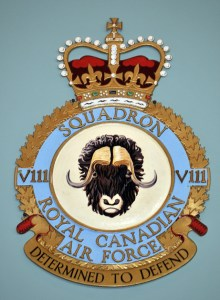 RCAF Squadron V111 Determined to Defend