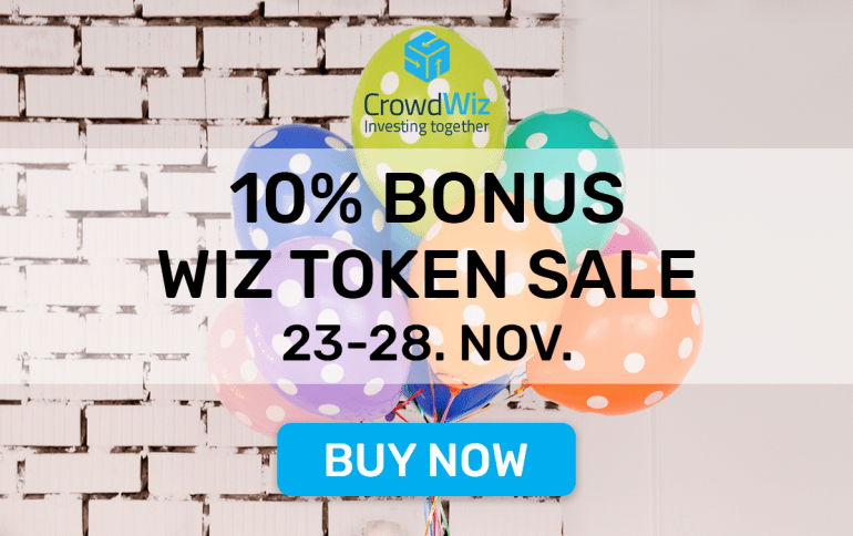 CrowdWiz ICO token sale is now LIVE