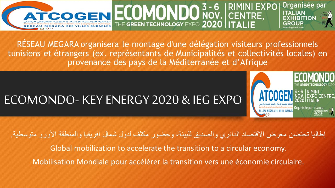 ECOMONDO- KEY ENERGY 2020 et IEG EXPO