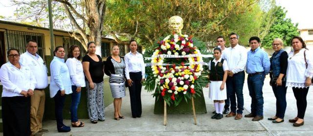 Conmemora Gobierno Municipal el 186 aniversario luctuoso del Gral. Vicente Guerrero