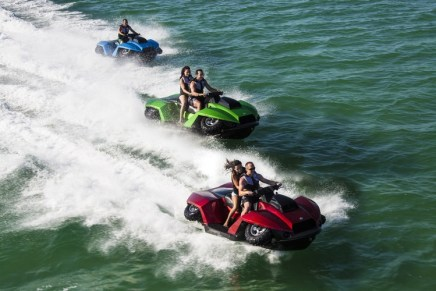 ¡Genial! De Una ATV A Una MOTO Acuática En Solo 5s – Vea La Increíble GIBBS Quadski