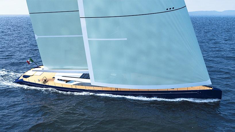 Ferrari & Franchi crean el hermoso concepto de yate deportivo: Blue Sapphire