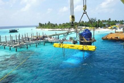 Maldivas mega ricos for Hotel en maldivas con restaurante bajo el agua