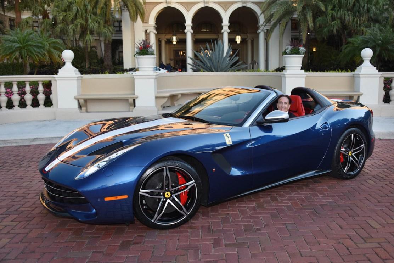 El Primer Ferrari F60 En Los Estados Unidos Llegó A Su Dueño En Palm Beach
