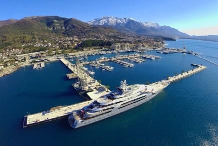 El Porto Montenegro Estrena El Puerto De Atraque Más Grande Del Mundo De 250 Metros
