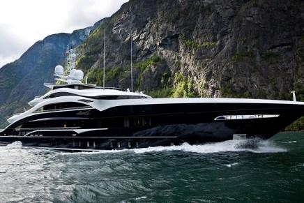 Hecha un vistazo al totalmente personalizado mega yate ANN G del astillero holandés Heesen Yachts