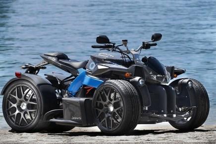 Lazareth E-Wazuma Quad: Este Hermoso Cuadriciclo Viene Con Dos Motores Eléctricos 30KW Que Entregan 490 Nm de Torque