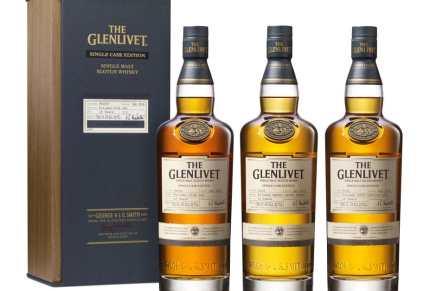 El Glenlivet rinde homenaje a su pasado con el lanzamiento de tres Whiskys de una sola barrica por primera vez en los EE.UU.