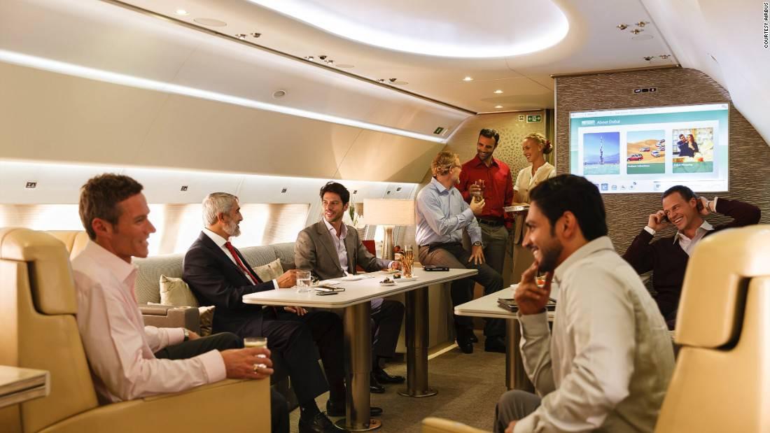 Aviones VIPs de lujo: Así viajan los multimillonarios en sus impresionantes jets privados