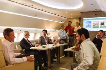 Aviones VIP de lujo: Así viajan los mega ricos en sus impresionantes jets privados