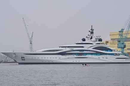 "Lürssen lanzó mega proyecto ""Jupiter"", un super yate de 124 metros"