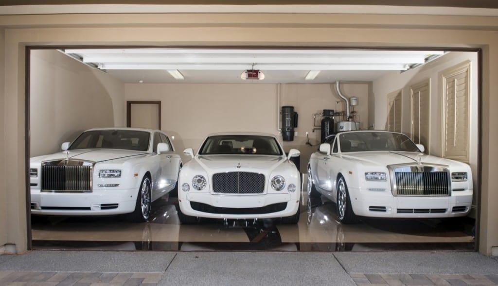 Ellos son los 15 deportistas con las colecciones de autos de lujo MÁS INCREÍBLES del mundo