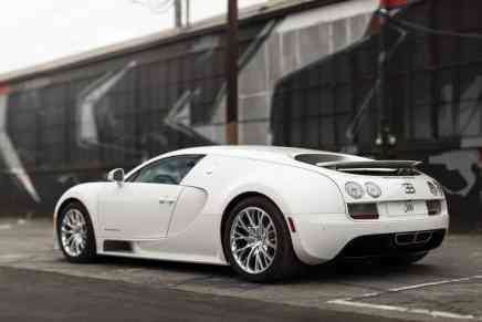 Este Bugatti Veyron 16.4 Coupé – el último fabricado – será subastado el próximo mes