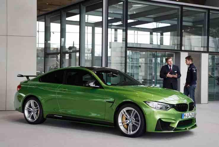 El campeón del DTM 2016, Marco Wittman, recibe este increíble BMW M4