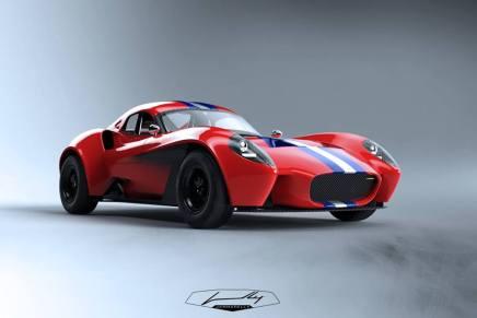Jannarelly presenta una versión Hardtop de su hermoso súper coche: Design-1