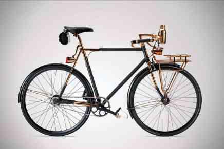WHEELMEN: Una lujosa y clásica bicicleta de $35.000 por Williamson Goods