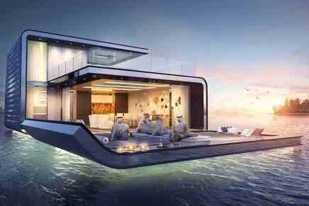 Signature Edition Floating Seahorse, haga un TOUR por dentro de estas casas flotantes de lujo en Dubái