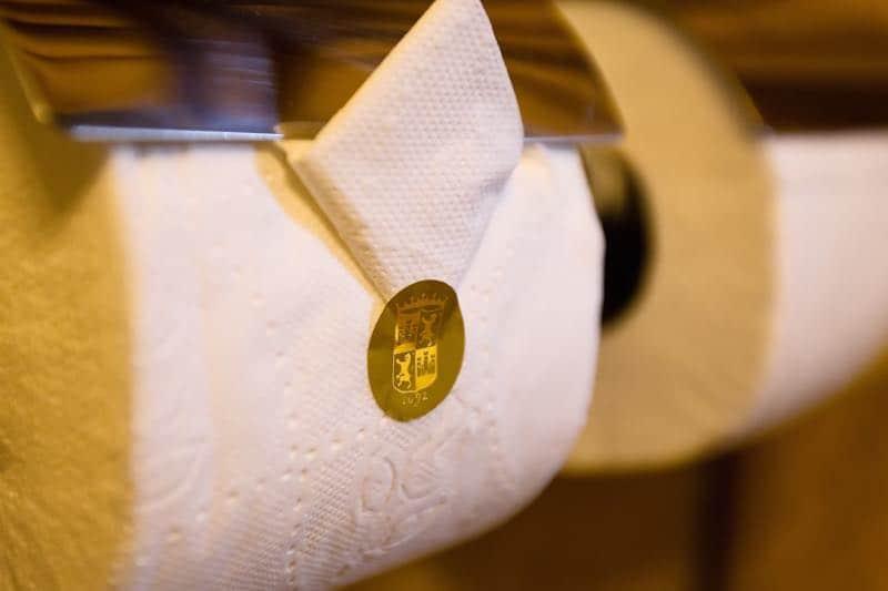 Papel higiénico de oro