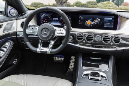 Mercedes-Benz S63 AMG 4MATIC+ 2018 | Nuevo interior