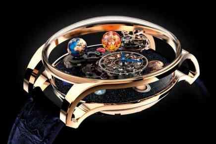 """Alucina con el espacio en tus manos con el espectacular """"Astronomia Solar Planets"""" — Un reloj de $1 MILLÓN de dólares"""