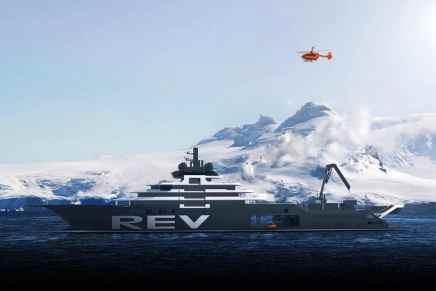 Multimillonario financia el yate más grande del mundo para expediciones científicas