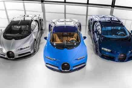 El primer Chiron sale de Bugatti Atelier con destino a su cliente
