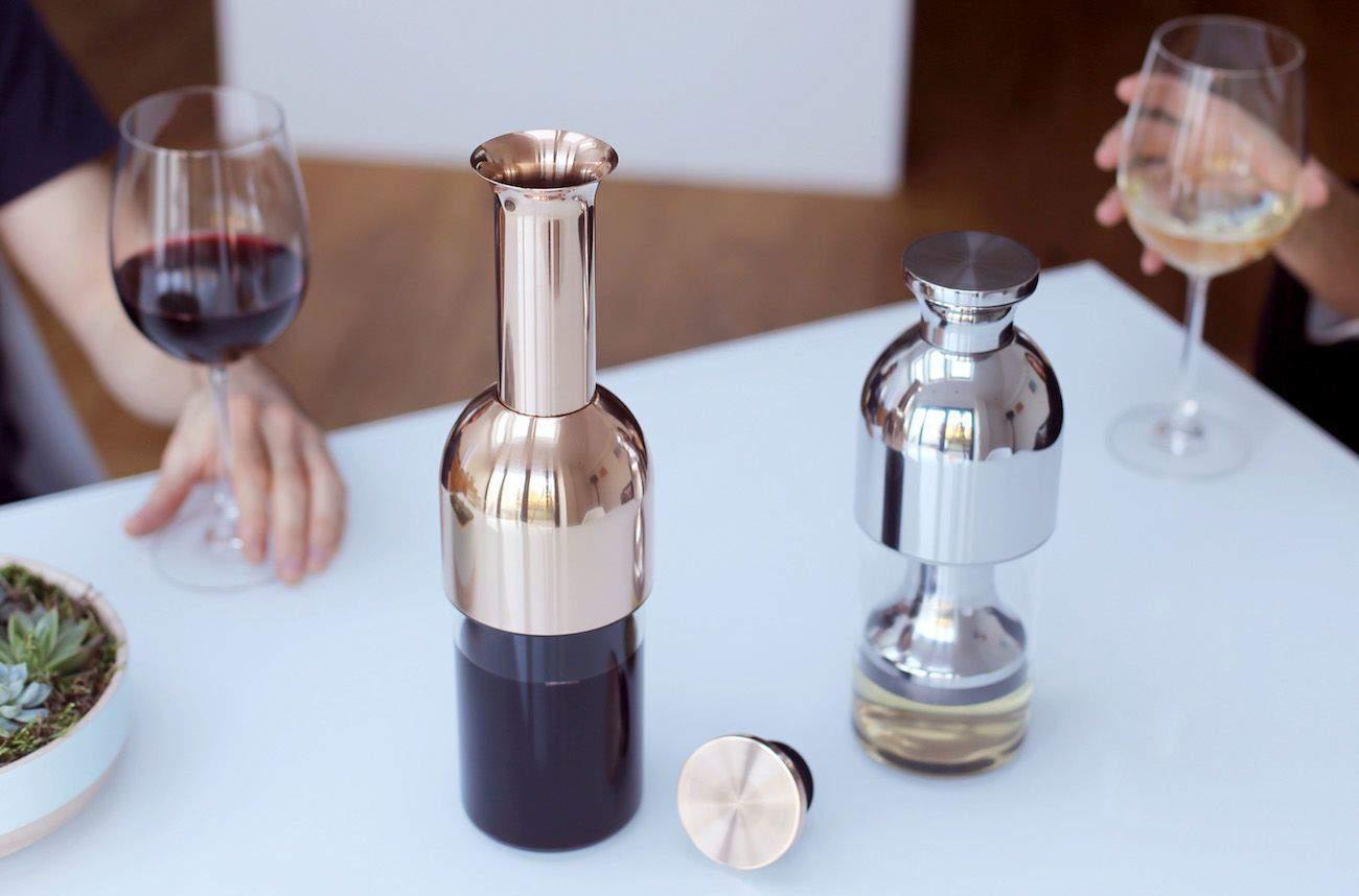 Esta decantadora creada por Tom Cotton es el regalo perfecto para los amantes del buen vino