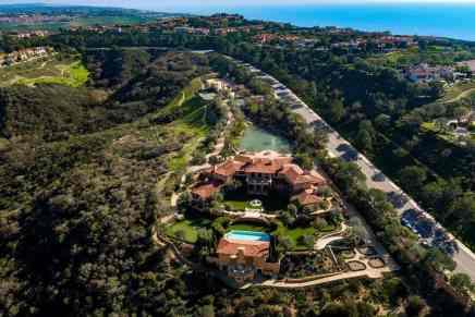 Villa del Lago: Esta lujosa mega propiedad en Pelican Hill Drive, California sale a la venta por $55 millones