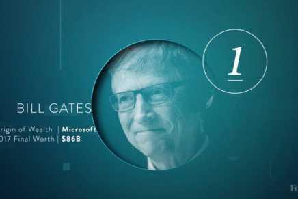 Lista de billonarios de Forbes: Conozca a las personas más rica del planeta en 2017