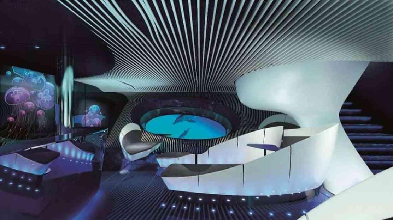 PONANT presenta el primer lounge bajo el mar del mundo: Blue Eye