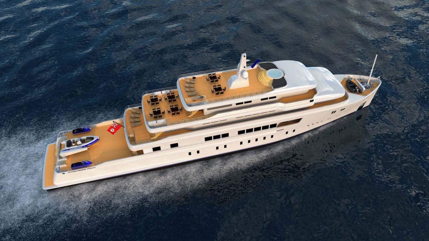 Eurocraft y Marimecs presentan el Manta 65, un nuevo concepto de yate explorador