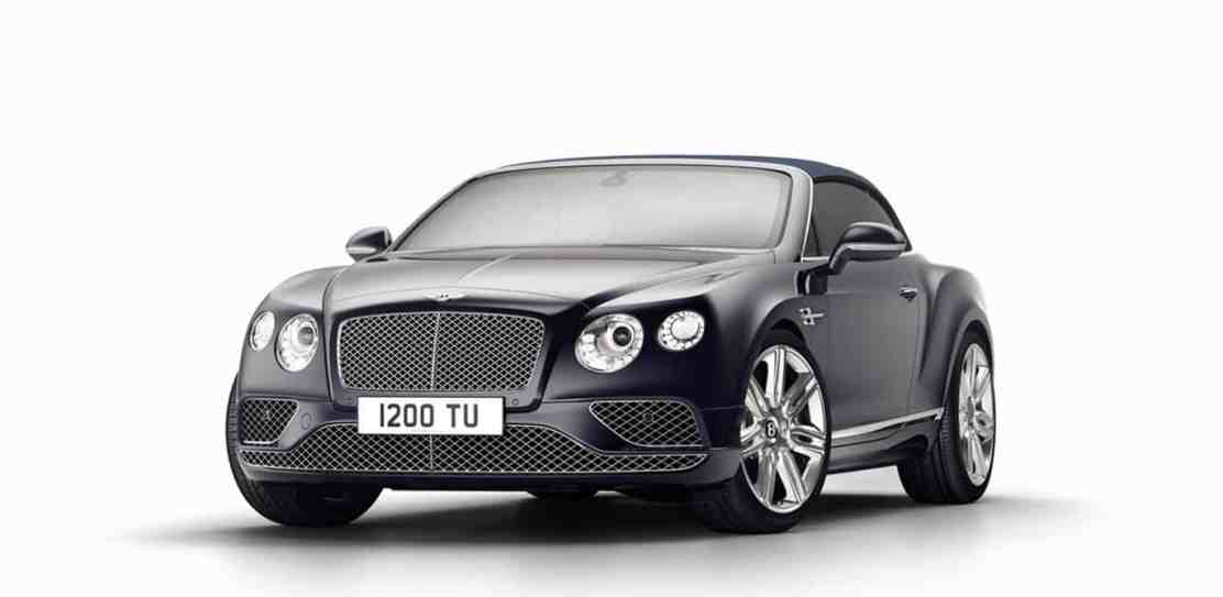 Bentley presenta el Continental GT Timeless Series