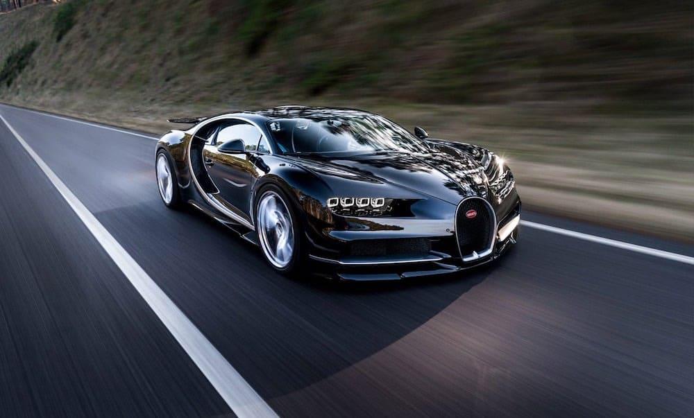 Bugatti Chiron (2,6 millones de dólares)