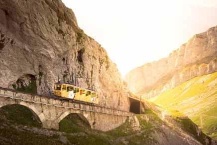 Carl F. Bucherer coopera con el tren de Pilatus de Lucerna