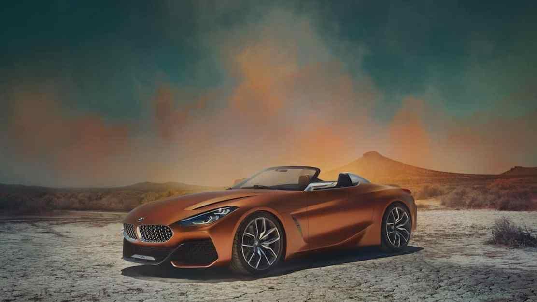 BMW presenta su nuevo coche deportivo ?Concept Z4? en el Pebble Beach 2017