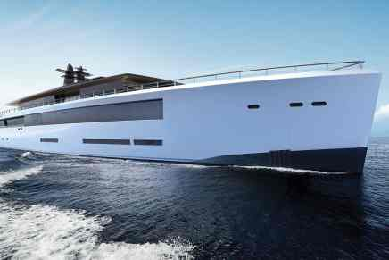 ZEN, un increíble mega yate concepto de 80 metros por Feadship y Sinot