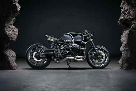 Esta BMW R nineT por Diamond Atelier & K1X es mega espectacular