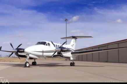 """¿En busca de tú próximo jet privado? Este lujoso """"King Air 250"""" del 2016 está a la venta exclusivamente con jetAVIVA"""