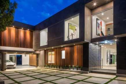 Ponen a la venta esta maravillosa mansión contemporánea en Sherman Oaks, California por $3.995.000