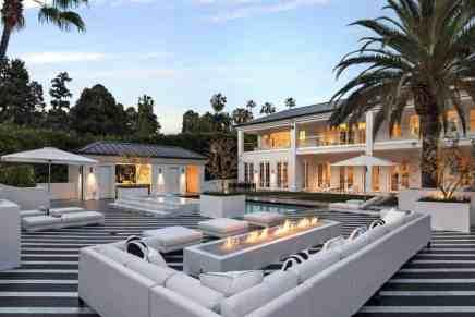 Haga un tour por la nueva mega mansión de $25.5 millones de Floyd 'Money' Mayweather en Beverly Hills, California