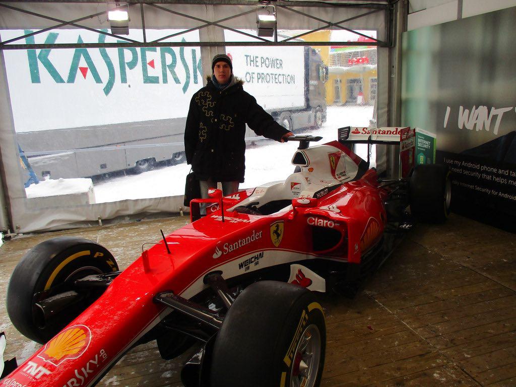 Fórmula Uno en Kaspersky Lab