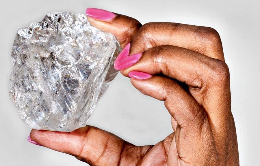 El segundo diamante más grande del mundo, Lesedi La Rona, se vendió por $53 millones