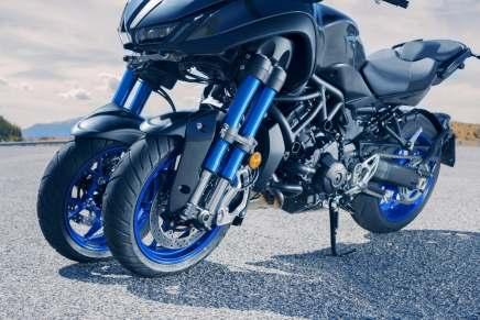 Ya están abiertas las reservas para adquirir el vehículo de tres ruedas Niken por $16.000 de Yamaha