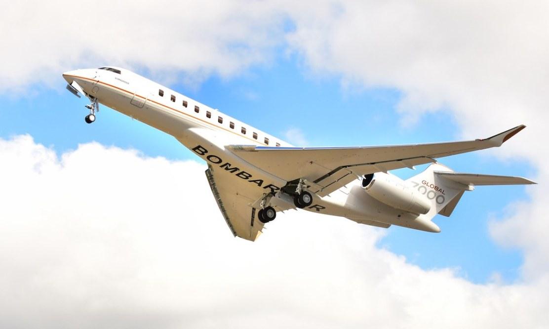 Bombardier eleva el negocio de la aviación a otro nivel con el jet privado más grande del mundo