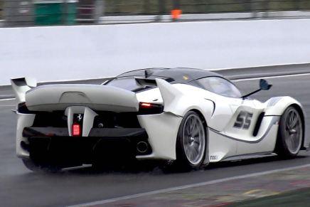 Chequea este ¡Ferrari FXX K de $3 millones! cursar por el  circuito de carreras SPA-Francorchamps