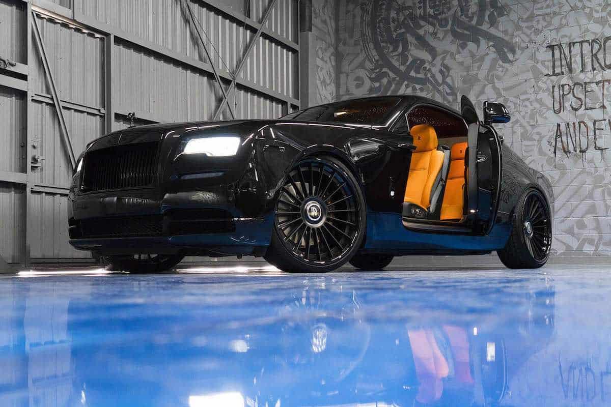 """Te presentamos el Rolls-Royce Wraith """"Black Edition"""" por R1 Motorsport"""