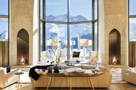 Está lujosa mega mansión es la más cara de St. Moritz, Suiza y ahora la puedes comprar por $185 millones